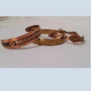 Vintage Copper Bracelets